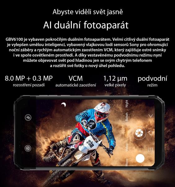 GBV6100 fotoaparát