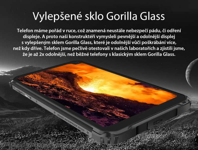 GBV6100 Gorilla Glass