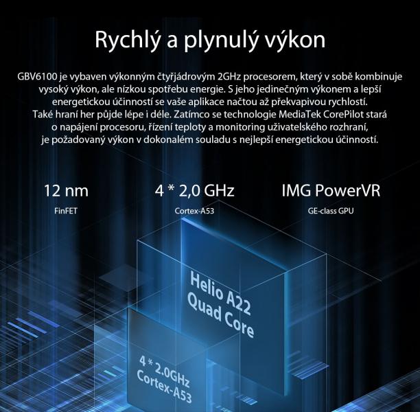 GBV6100 výkon