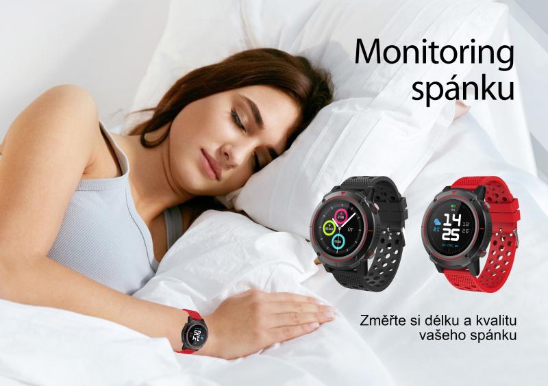 iGET ACTIVE A8 sledování spánku