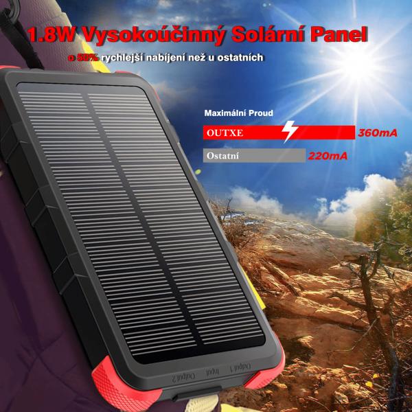 OUTXE SAVAGE solární panel