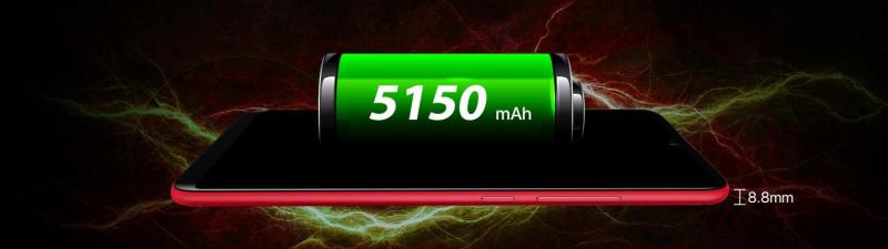 UMIDIGI F1 baterie